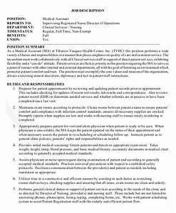 physician assistant job description physician assistant With physician assistant job description template