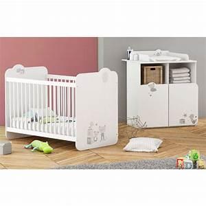 chambre a coucher auchan ralisscom With chambre bébé design avec fleurs en ligne pas cher
