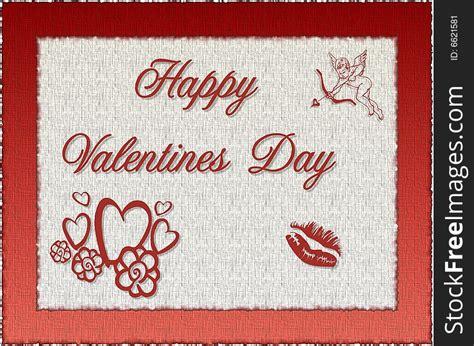 happy valentines  stock images