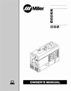 Miller Electric Trailblazer Dc User U0026 39 S Manual