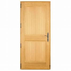 Poser Une Porte D Entrée En Rénovation : porte d entree bois ~ Dailycaller-alerts.com Idées de Décoration