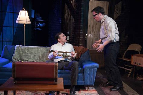 Laughter On The 23rd Floor Monologue by Review Side Man American Blues Theater Newcity Stage
