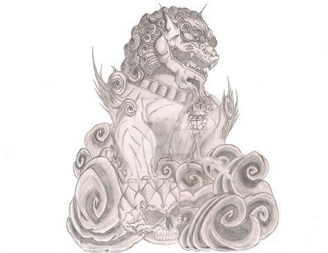 Foo  Ee  Dog Ee   Tattoo By Shadownexu On Deviantart