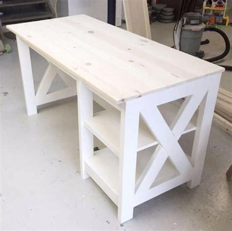 farmhouse desk plans handmade haven