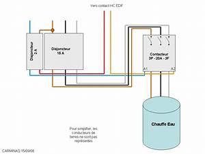 Chauffe Eau 380v : bricovid o forum lectricit branchement diff rentiel ~ Edinachiropracticcenter.com Idées de Décoration