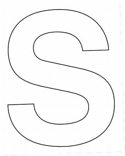 Printable Letter Cut Letters Block Stencils Alphabet