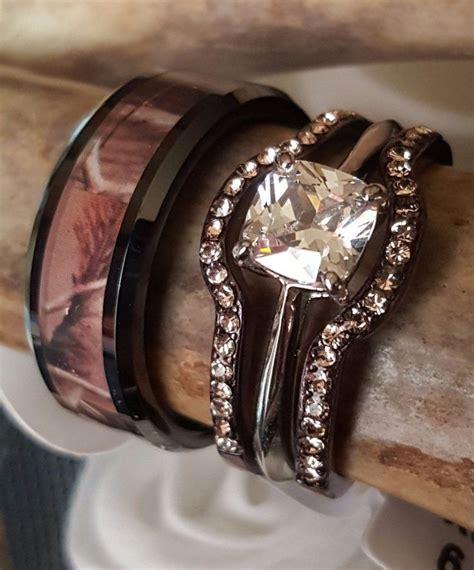 1000 ideas about camo engagement rings on pinterest