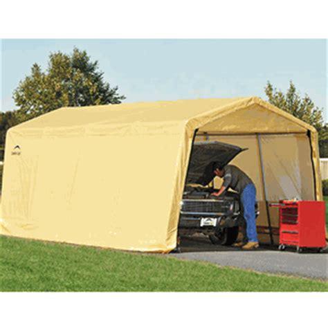 10 X 20 Garage by 10 X 20 Peak Portable Garage Canopy 1 3 8 Quot