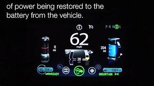 New Feature On The 2013 Chevy Volt  U0026quot Power Gauge U0026quot