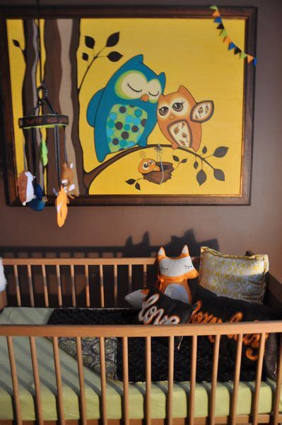 Owl Paintings for Babies Room