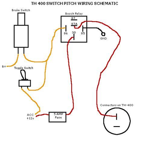 Turbo Transmission Kickdown Switch Wiring Diagram