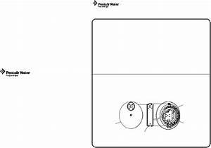 Pentair Nicheless Light Aqualumin Ii User Manual