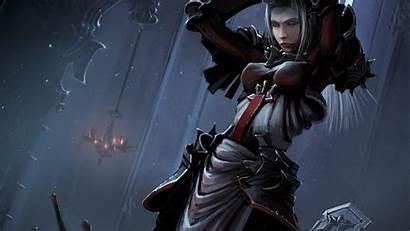Diablo Crusader Wallpapers Armor Blonde Games