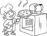 Bestcoloringpagesforkids Malvorlagen Pizzaofen sketch template
