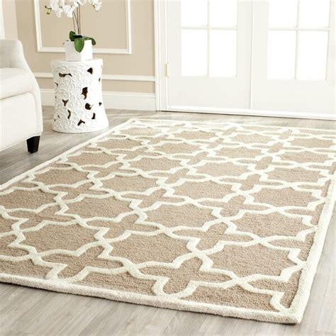 overstock safavieh rug safavieh handmade moroccan cambridge beige wool rug 9 x