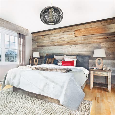image deco chambre chambre rustique comme au chalet chambre inspirations