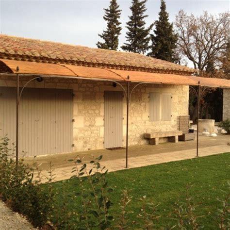 pergola en fer forge sur mesure fabrication artisanale villa m 233 lodie