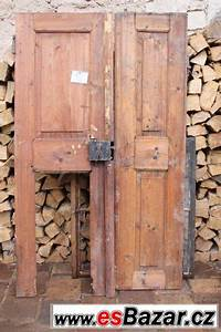 Staré interiérové dveře