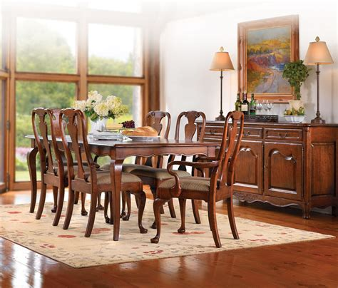 Furniture Stickley Style Dining Room Table And 4 Chairs