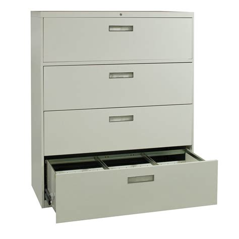 Allsteel Used 4 Drawer 42 Inch Lateral File, Putty. Custom Drawer Dividers. Executive Desks For Home Office. Couch Computer Desk. Ebay Desk. Make Lap Desk. French Provincial Coffee Table. Whirlpool Drawer Dishwasher. Step 2 Desk With Stool