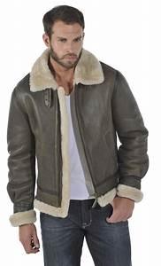 Veste En Jean Doublée Mouton Femme : vetement cuir homme manteau cuir homme veste cuir schott redskins ~ Melissatoandfro.com Idées de Décoration