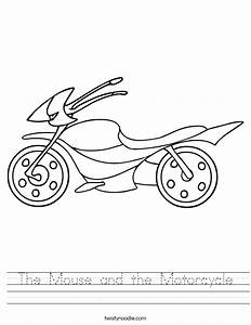The Mouse and the Motorcycle Worksheet - Twisty Noodle