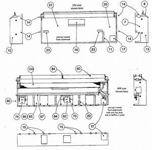 Top View Diagram  U0026 Parts List For Model 40qaq048300