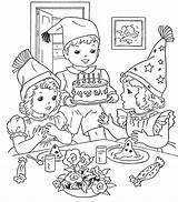 Coloring Birthday Happy Printable Scene Colouring Sheets Drawing Jesus Cake Google Zoeken Birthdays Cakes 1370 1200 Popular Colorings Getcolorings Draw sketch template