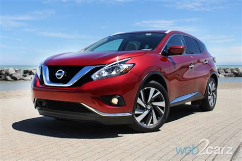 nissan murano platinum awd review webcarz