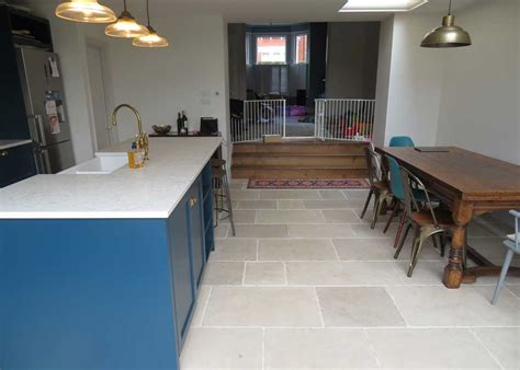 casa floor limestone is proving more and more popular for a stone kitchen floor