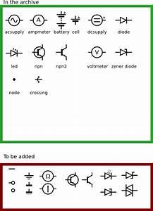 Electronic Circuit Symbols Clip Art At Clker Com