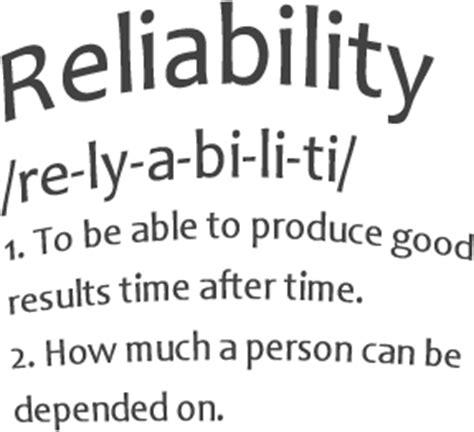 reliability contractors disposal