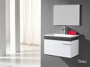 Gäste Wc Spiegel Mit Beleuchtung : badm bel g ste wc waschbecken waschtisch spiegel montecarlo grau eiche wenge 60 ebay ~ Indierocktalk.com Haus und Dekorationen