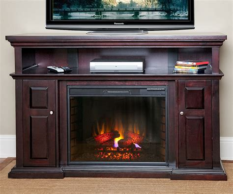 fireplace entertainment centers 60 quot pasadena espresso electric fireplace entertainment