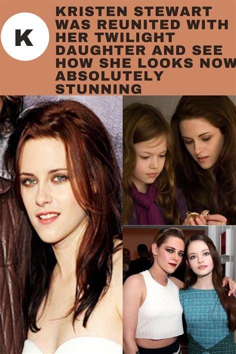 Kristen Stewart Was Reunited With Her Twilight Daughter ...