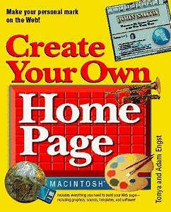 Create your own home page for macintosh with disk rent for Design your own home page