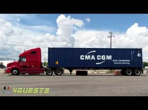 knight trucking  cma cgm shipping container youtube