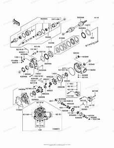 Kawasaki Atv 2004 Oem Parts Diagram For Drive Shaft