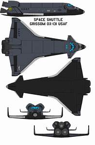 Space shuttle Grissom OX-131 USAF by bagera3005 on DeviantArt