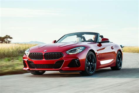 The 2019 Bmw Z4 Roadster Makes It's World Debut At Pebble