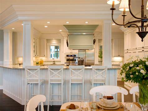 breakfast nook bar how to choose kitchen lighting hgtv