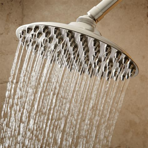bathroom shower heads bostonian rainfall nozzle shower bathroom