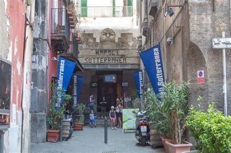 Napoli Sotterranea Ingressi Un Giorno A Napoli Ottolore