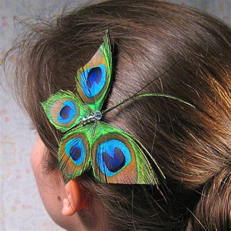 Peacock Hair Accessory From Etsy Popsugar Beauty