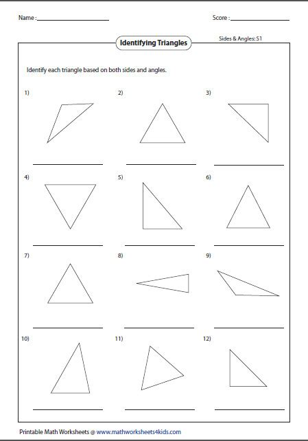 classifying angles worksheet homeschooldressage