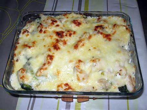 recette de gratin de poisson pommes de terre et brocolis