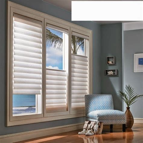 window treatments   living room zion star