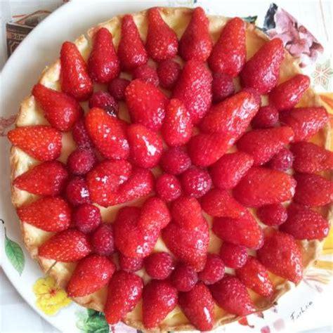 tarte aux fraises pate brisee creme patissiere tarte aux fraises framboises cooking chef de kenwood espace recettes