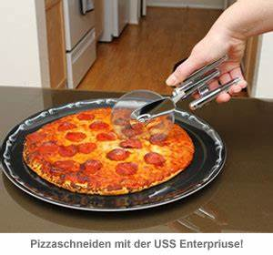 Edelstahl Pizza Element : star trek enterprise pizza cutter pizzaschneider f r echte fans ~ Frokenaadalensverden.com Haus und Dekorationen