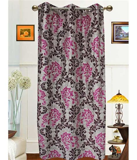 dekor world curtains dekor world single window eyelet curtain printed buy